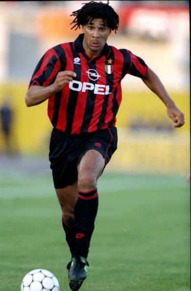 Ruud Gullit of AC Milan