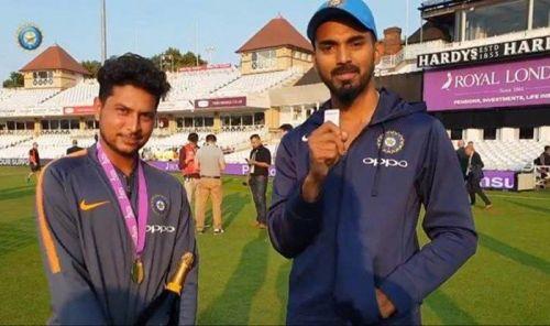 Kuldeep Yadav and KL Rahul