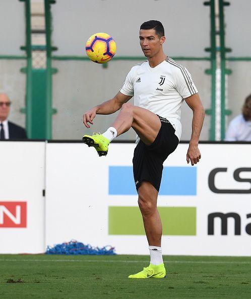 Juventus Training Session - Italian Supercup Previews