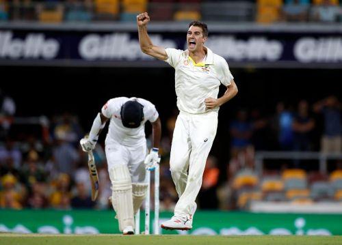 Pat cummings pics 10 wicket haul