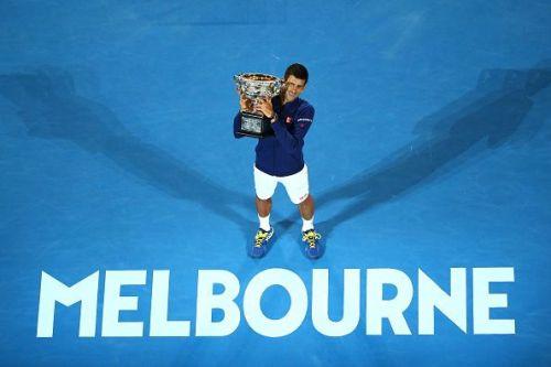 6 time champion Novak Djokovic
