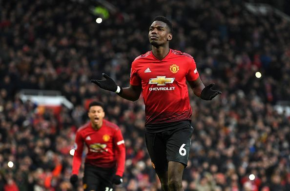 Pogba made no mistake to break the deadlock before the half-hour mark