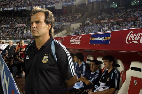 Bielsa managed Argentina to Olympic Gold in 2004