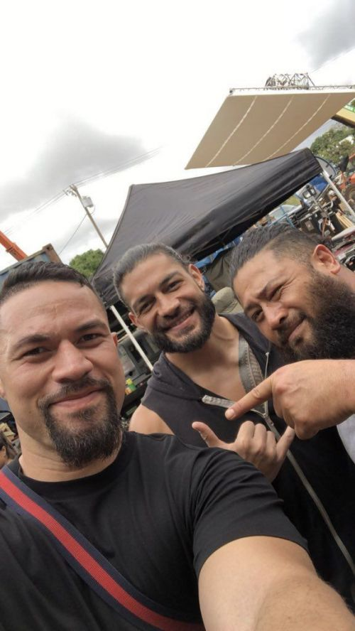 Roman recent picture with his friends