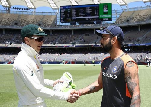 Virat Kohli will lead the side while Tim Paine failed to get a nod