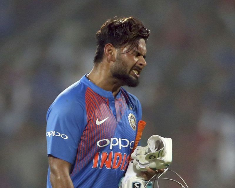 Pant failed to ODI format
