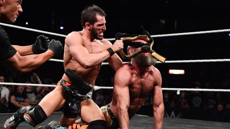 It is Johnny Wrestling