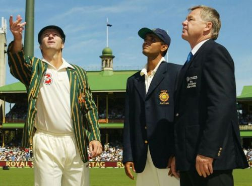Fourth Test - Australia v India: Day One
