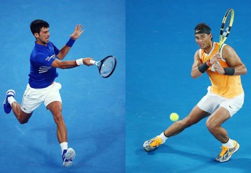 Djokovic and Nadal face off against each other in the AO 2019 final