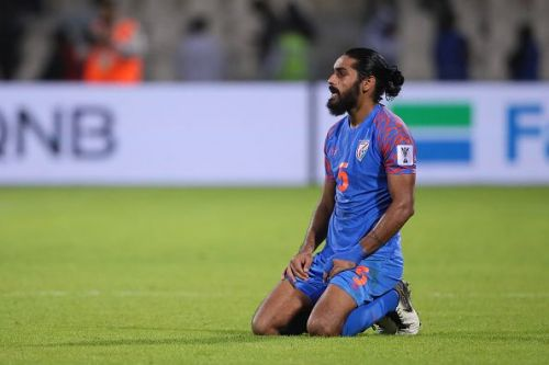 Sandesh Jhingan was magnificent at the heart of the Indian defence