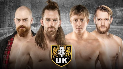 Which team walked away the new NXT UK Tag Team Champions?