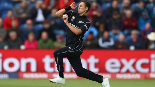 Boult took a hat-trick against Pakistan recently