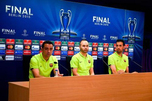 Xavi, Iniesta, and Busquets - The Legendary Trio