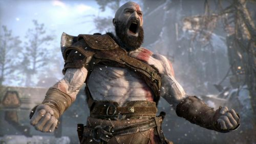 Kratos is very excited about his many nominations