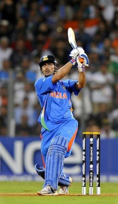 Dhoni played a decisive knock in the final and captured his place in the hearts of every Indian cricket fan.
