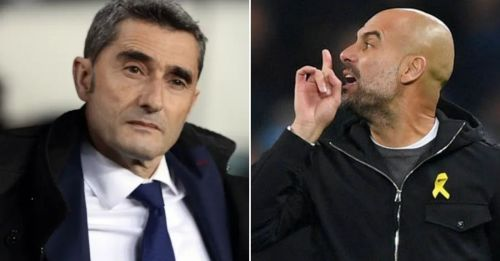 Valverde isn't happy about Guardiola during the de Jong transfer