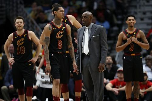 Cavaliers Vs Lakers 2018 >> Nba 2018 19 Cleveland Cavaliers Predicted Starting Lineup
