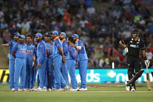New Zealand v India - ODI Game 2