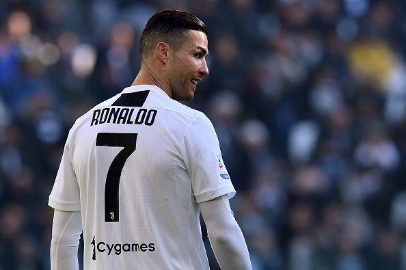 Juventus and Portuguese star, Cristiano Ronaldo