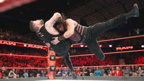 Image result for roman reigns spear