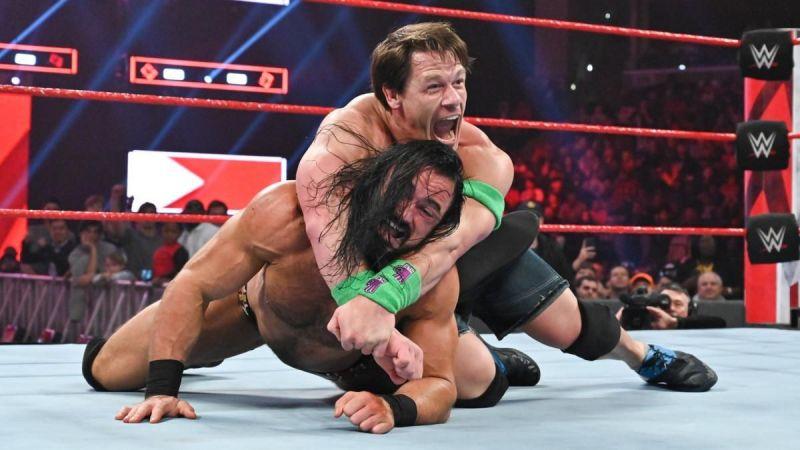 John Cena and Drew McIntyre faced off in a huge fatal 4-way last week.