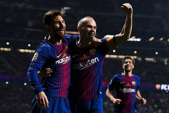 Iniesta demonstrated a perfect understanding with Messi on the pitch