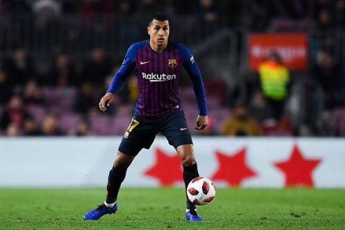 Murillo joined Barcelona from Valencia in December