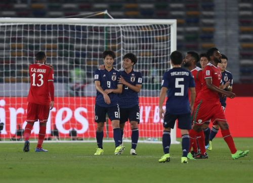 Japan didn't show any attacking impetus in the second half