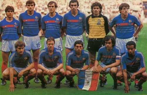 The French team of 1984