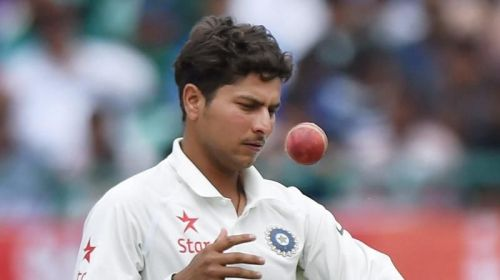 Kuldeep Yadav is having a memorable outing in the fourth Test