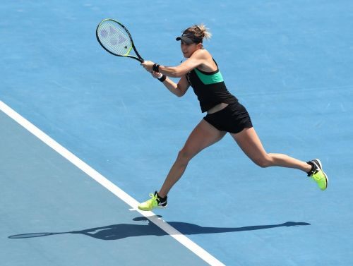 Switzerland's Bencic wins drama filled three-setter against Buzarnescu in the Round of 32 of Hobart International