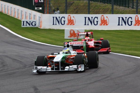 2009 was a much better season for Force India, claiming their first podium.