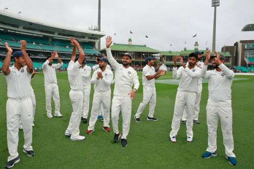 Kohli's men created history in Australia by winning India's first-ever Test series win Down Under