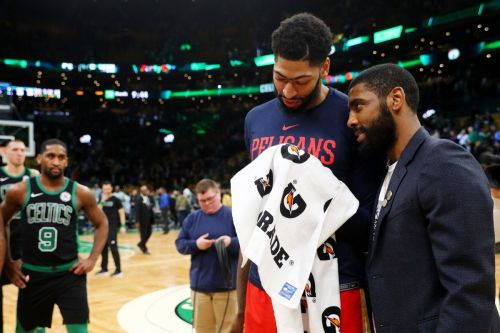 Anthony Davis is currently missing playing time after spraining his left index finger.