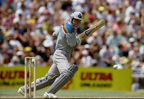 Martin Crowe at the 1992 World Cup.