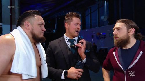 Will Samoa Joe or Miz face Daniel Bryan at Wrestlemania 35?