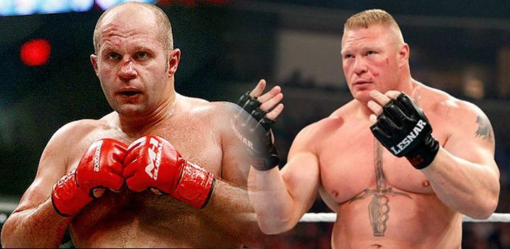Fans dreamed of a match between Brock Lesnar and Fedor Emelianenko for years