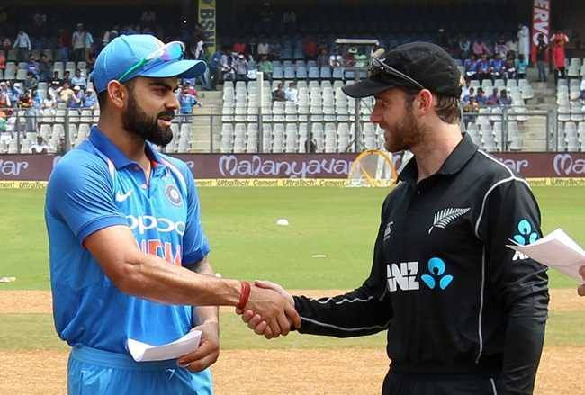 India Will Visit New Zealand To Play Five One Day Internationals Odis Matches And