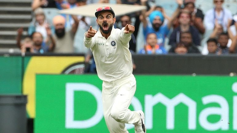 The ever-so-passionate attitude of Virat Kohli
