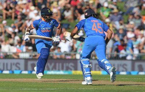 Indian openers Shikhar and Rohit