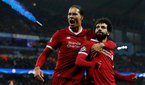 The Liverpool duo of Mohammed Salah and Virgil Van Dijk have been nominated for the player of the month award.