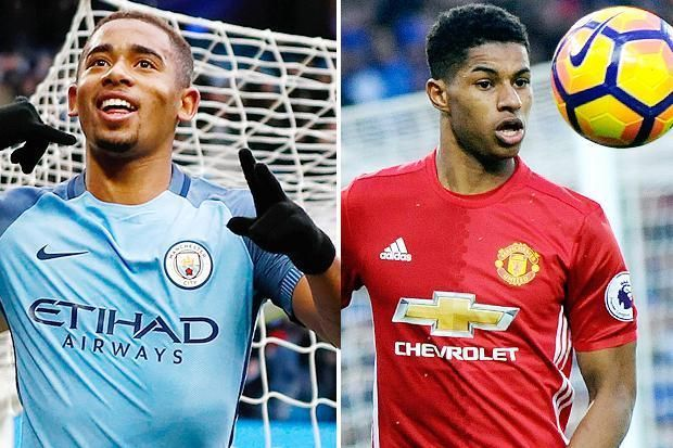 Gabriel Jesus and Marcus Rashford: Same age, same positions, and almost the same style of play. Both strikers for Brazil and England respectively. Ringing bells?