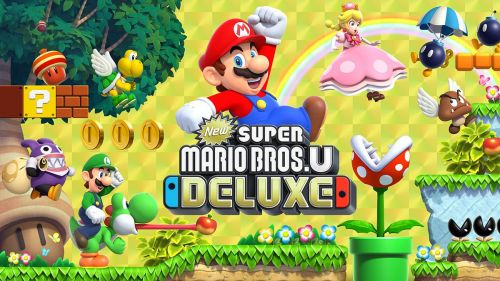 Official Poster for New Super Mario Bros. U Deluxe