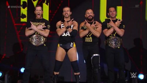 The Undisputed Era continues 2019 on top of NXT