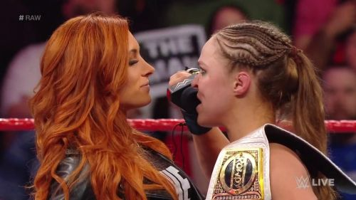 The Man vs. The Baddest Woman on the Planet!