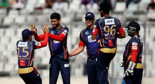 Vikings won a low scoring thriller against Rangpur in their opening fixture.