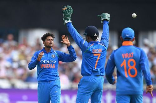 Dhoni and Kuldeep masterminded Trent Boult's wicket