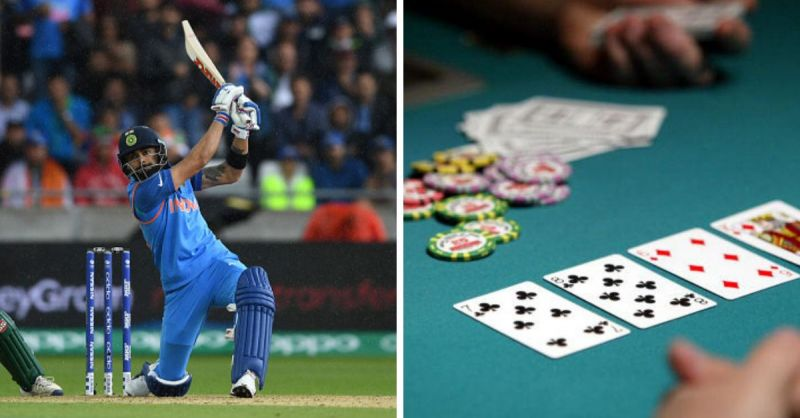 Cricket and Poker share a lot in common