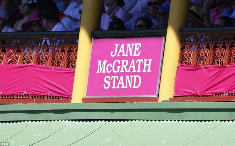 Jane mcgrath stand