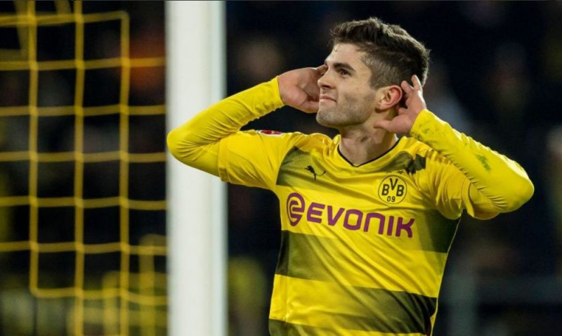 Pulisic has signed for Chelsea for £57.5m